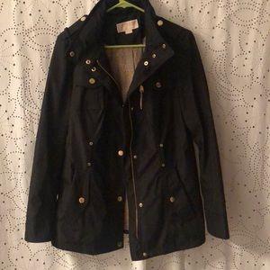 Michael kors jacket with hidden hood